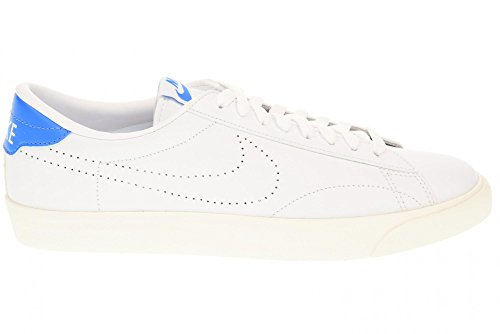 Nike Herren Tennis Classic AC Tennisschuhe, Multicolore-Blanco / Azul (White / White-Lt Photo Blue), 40 EU