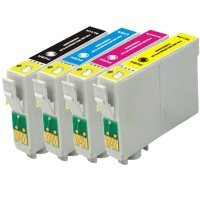 eStoreimport Compatible Ink Cartridges Replacement for Epson 124 (3x Black,Cyan, Magenta, Yellow, 6-Pack)