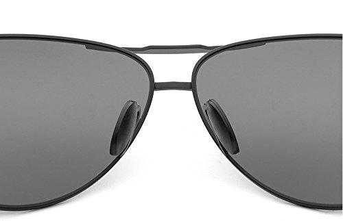 Gray De Gafas Hombres Gray de Gafas Ying Piloto Viajes Sol para Polarizadas Black Gafas Color 2018NEW Marca Gafas UV400 de Sol Gafas Conductores Sol BawqwxST5W