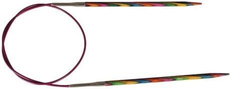 KnitPro Symfonie Wood Fixed Circular Knitting Needles 40cm length