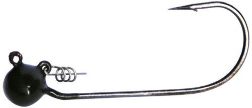 MESU Bait Company Cocky Rooster Jig (3-Pack), Green Pumpkin, 1/2-Ounce