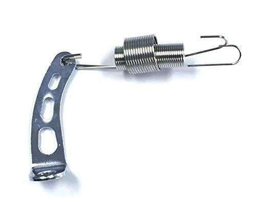 (Pirate Mfg Hot Rod Chrome Carburetor Return Spring Bracket & Dual Return Spring Kit)