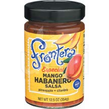 FRONTERA FOODS, SALSA, MANGO HABANERO, Pack of 6, Size 12.5 OZ - No Artificial Ingredients