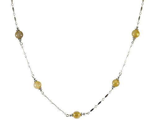 Kit Johnson Designs Quality Gemstone Necklaces, 7-8mm, 19 3/4