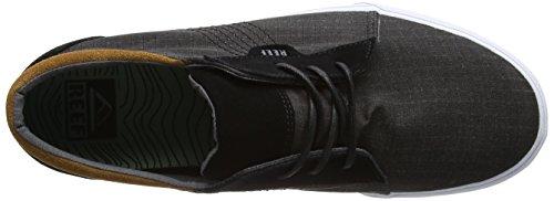 Reef Ridge Tx, Zapatillas para Hombre Negro (Black)