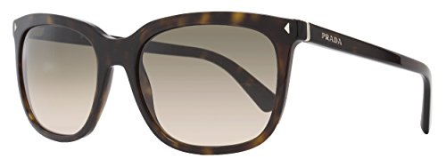 Prada 12RS 2AU3D0 Tortoise 12RS Wayfarer Sunglasses Lens Category - Sunglasses Prada Style Wayfarer