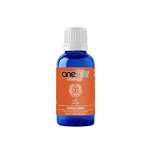 Onelife Leo Zodiac Sign Astrology Essential Oils, 15Ml | Diffuser Oils For Home