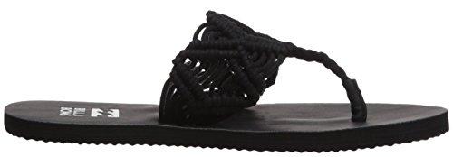 Billabong Kvinners Innstillings Fri Flip-flop Svart