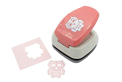 Bira 1.5 inch Silhouette Craft Lever Punch, Halloween Punch, for Scrapbooking Cards Paper Arts (Owl Shaped) for $<!--$15.99-->
