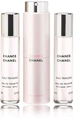 Chãnel CHANCE EAU TENDRE Eau de Toilette 3-Pc. Twist & Spray Gift Set