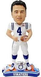 Adam Vinatieri Colts Super Bowl Champion Ring Bobblehead