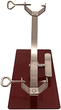 Soporte jamonero New Generation basculante con herraje Inoxidable y base de acero color cerezo