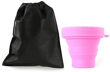 EudoER 1 Pieza Plegable Esterilizador De Copa Menstrual Caja De Almacenamiento Esterilizadora con Tapa: Amazon.es: Deportes y aire libre