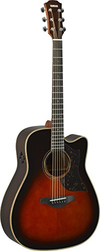 (Yamaha 6 String Series A3R Cutaway Acoustic-Electric Guitar-Rosewood, Tobacco Sunburst, Dreadnought)