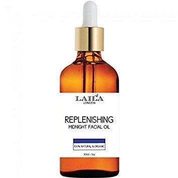 Replenishing Face Oil Serum 100% Natural and Organic Line Reducing Anti-aging All Skin Types Facial Serum, Antioxidant Rich in Vitamin C Dark Spot Fine Lines and Wrinkles. Marula Oil, Rosehip, Jojoba