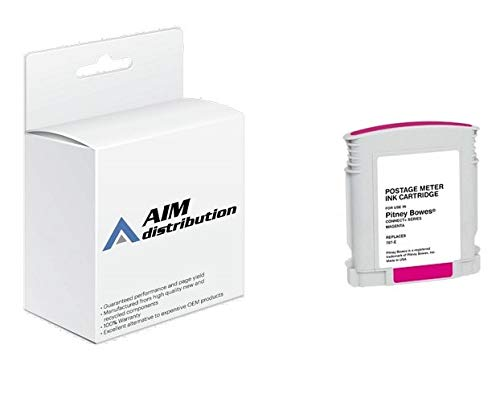 AIM Compatible Replacement for Innovera IVR787E Magenta Postage Meter Inkjet - Compatible to Pitney Bowes 787-E - Generic