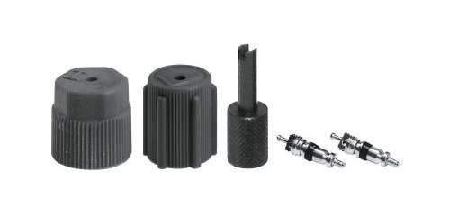 Air Hose Valve Cover - Interdynamics Automotive A/C R-134a High and Low Side Service Port Repair Kit