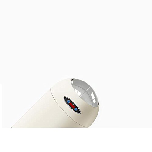 Lina Bote de Basura de la Sala Sala Sala de Estar del Sensor de Smart Home, versión de Carga, bajo Nivel de Ruido, con Tapa y cubeta Interior, Tapa Abierta de Dos vías, Blanco (Tamaño : 12L-24   54cm) 540ac9