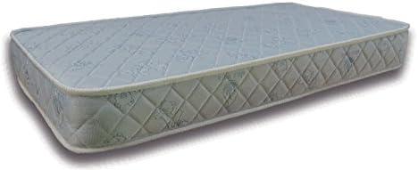 Colchón de MUELLES con FIBRAS NATURALES La Cigüeña para CUNA de 60x120 (Altura 13 cm)