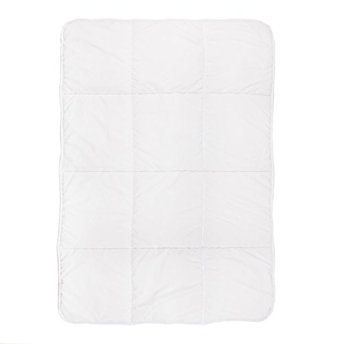 Tadpoles Toddler Comforter, Box Pattern/White from Tadpoles