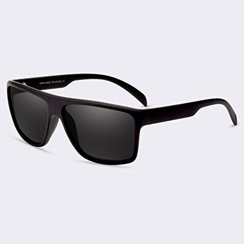 sol lentes gafas de hombres de C01gris de para HD recubrimiento de sol de Guía lujo C01Gray polarizadas TIANLIANG04 gafas de sombras Opwqg