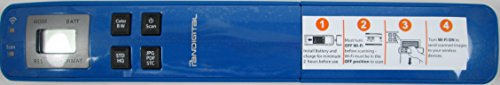 Pandigtal- Handheld WIFI Wand Scanner – Blue