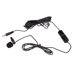 boya por-m1 micrófono de solapa omnidireccional para Canon Nikon Sony DSLR videocámaras y grabadoras de audio