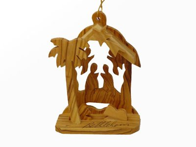 Wood Angels Ornaments - 7