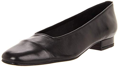 VANELi Women's FC-313 Flat, Black Suede/Brown Coryl Print, 11 M US