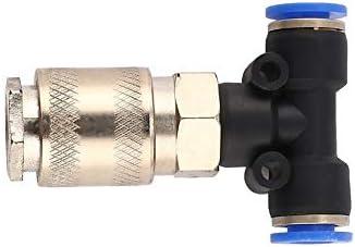 Pistola pulverizadora de aire para autom/óvil con manguera enrollada de 5 m Cami/ón Soplador de polvo Boquilla limpia Kit de herramienta de pulverizaci/ón de soplado Pistola de limpieza Azul