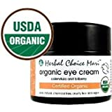 Herbal Choice Mari Organic Eye Cream 50ml/ 1.7oz Glass Jar