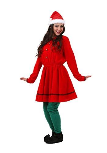 Adult Polar Express Elf Costume Medium