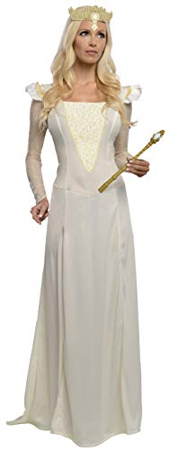 Rubie's Costume Disney's Oz The Great and Powerful Glinda Dress and Headpiece, White, -