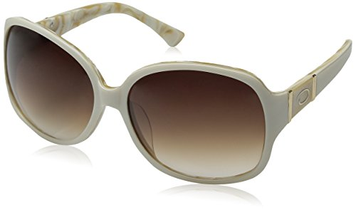 O by Oscar de la Renta Eyewear Women's SSC5067 Square Sunglasses,White,174 - Oscar Renta La O Sunglasses By De