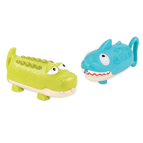31cnYQjk90L - B toys by Battat – Splishin' Splash Animal Water Squirts Duo Pack – Summer and Water Toys for Kids 18 m+ (2-Pcs)
