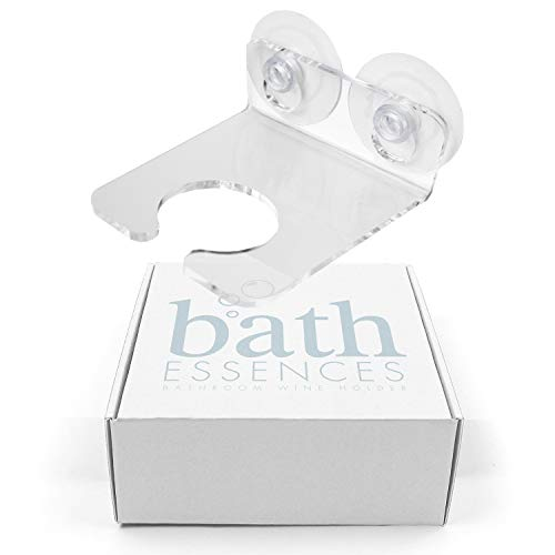 Bathtub Wine Glass Holder by Bath Essences - Pamper Yourself Now!