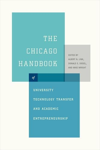 Books : The Chicago Handbook of University Technology Transfer and Academic Entrepreneurship