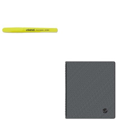 KITAAG70260X45UNV08851 - Value Kit - At-a-Glance Monthly Planner (AAG70260X45) and Universal Pocket Clip Highlighter (Aag70260x45 Monthly Planner)