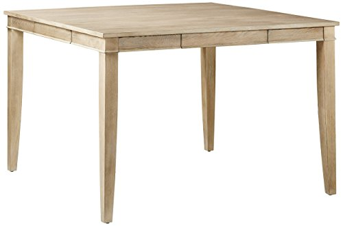 Furniture At Home 238 Harvest Collection Counter Height Table, Natural Wash ()
