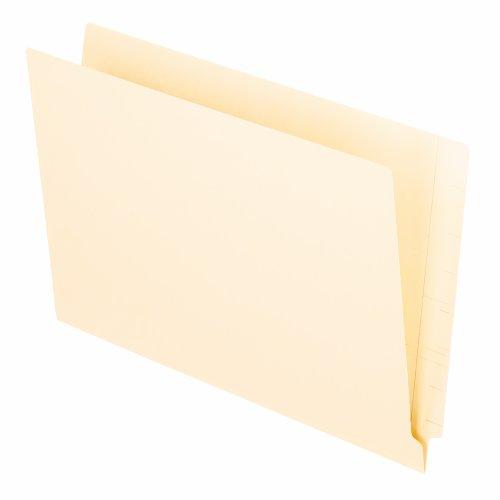 Pendaflex H210D Pendaflex Folders, Straight Cut, End Tab, 2-Ply, 9-1/2