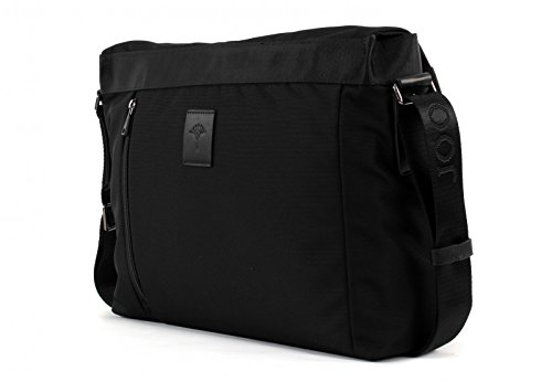 JOOP! Kimon Pure Nylon Flap Bag Large Black