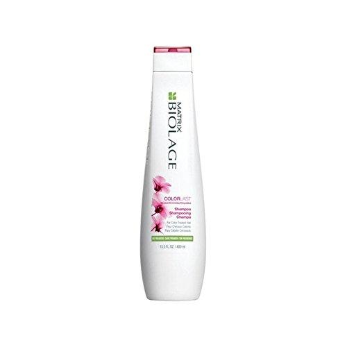 行列のバイオレイジシャンプー400ミリリットル x4 - Matrix Biolage Colorlast Shampoo 400ml (Pack of 4) [並行輸入品] B072P2LSN8