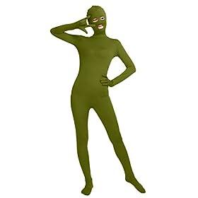 - 31cngkkwK3L - Bodysuit Eyes Open Mouth Open Spandex Zentai Full Body Unitard