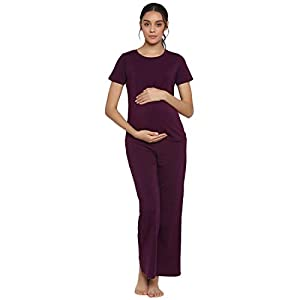 Wobbly Walk Low-Rise Pajama Maternity palazzo Pants Online India