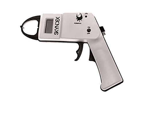 Skyndex Electronic Skinfold Caliper, Two Formulas, Jackson-Pollock and Slaughter-Lohman