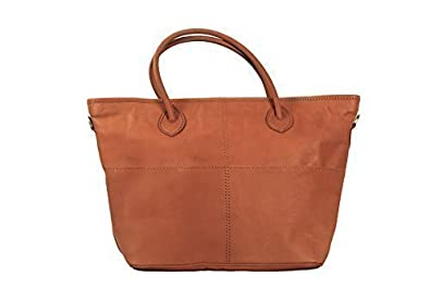 a0ad38440f Image Unavailable. Image not available for. Colour  Tan Brown Vintage  Leather Large Luxury Tote Bag Designer Shopper by Ashwood