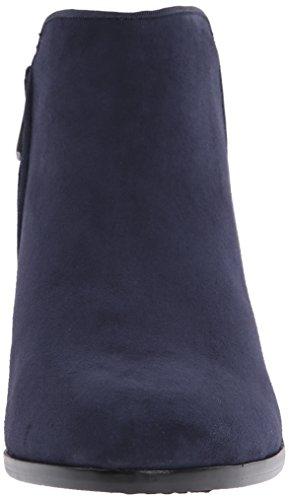 Inky tacón Navy Kid Mujer Sam para Petty Azul Botines Suede Edelman Blau 8xpqU