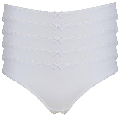 Ex-Store - Bikini - para mujer 5 Pack White