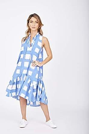 Solito Women's Racquet Club Dresses, Blue, Small