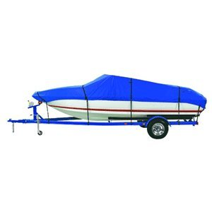 Dallas Manufacturing Co. Custom Grade Polyester Boat Cover F 17'-19' Center Console Models - Beam Width to 96""